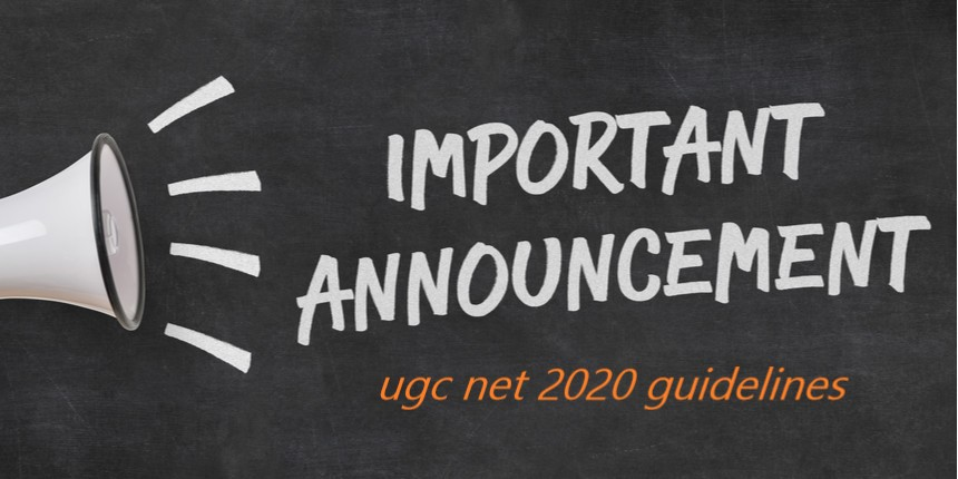 ugc net 2020 guidelines