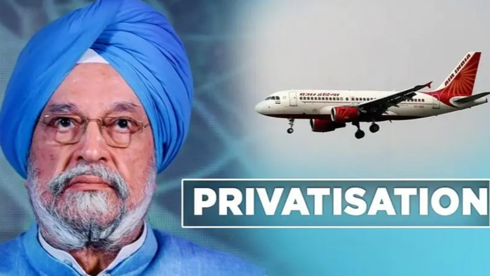 air india hardeep singh puri