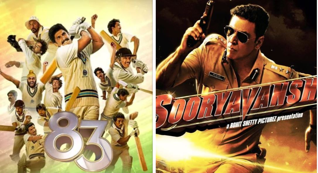 film 83 and sooryavanshi