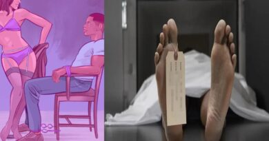man tied with chair for sex died