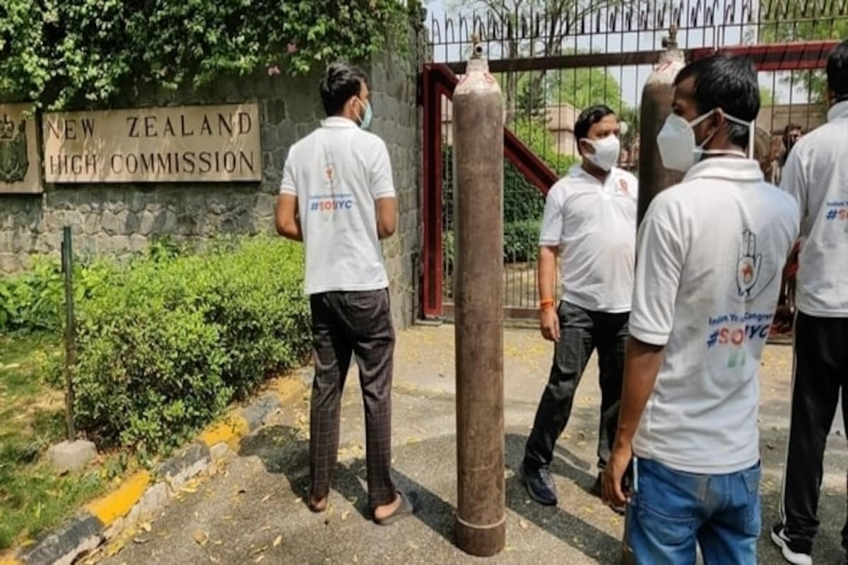 Youth Congress gives oxygen to NZ embassy after it asks for help on Twitter, then deletes tweet